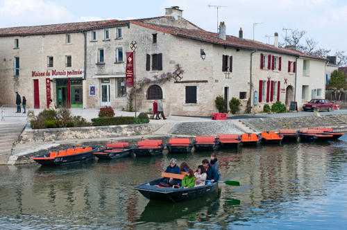 Coulon- Le Port. Marais poitevin